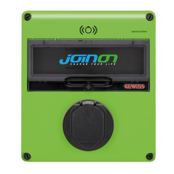 JOINON EASY PARKING - slow or accelerated surface-mounting charging station with socket IP54 - mode 3 in AC