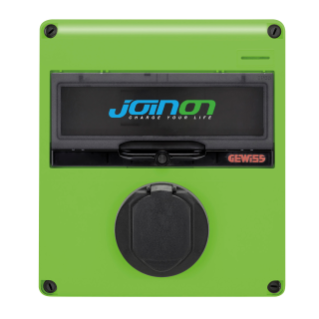JOINON EASY HOME – SLOW SURFACE MOUNTING CHARGING STATION - MODE 3 IN ALTERNATING CURRENT – TYPE 2 - 4,6 kW – IP54