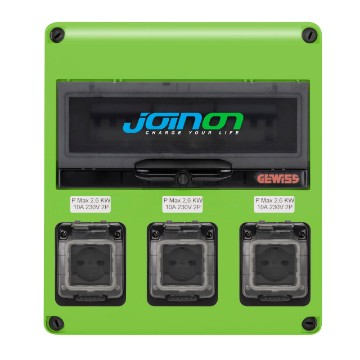 JOINON EASY HOME - щиток Q-DIN для зарядки - IP54/41 - 2 режима AC