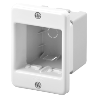 PLATE FOR PROFILES - SELF-SUPPORTING - 2 GANG - CLOUD WHITE - SYSTEM