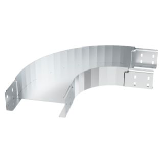 CURVE 90° - NOT PERFORATED - BRN80 - WIDTH 605MM - RADIUS 150° - FINISHING Z275