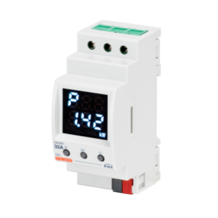DIRECT CONNECTION ENERGY METER - SINGLE-PHASE - 32A - KNX - 2 MODULES - DIN RAIL MOUNTING