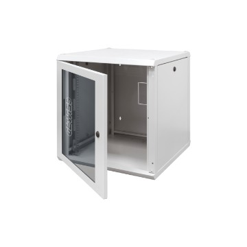 "19"" metal wall mount cabinets with transparent door"