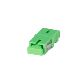 SC/APC ADAPTER - GREEN (RAL 6018)