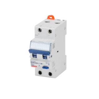 COMPACT RESIDUAL CURRENT CIRCUIT BREAKER WITH OVERCURRENT PROTECTION - 2P CURVE B 16A 10KA TYPE F Idn=0,03A - 2 MODULES