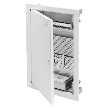 Multimedia enclosures for brick walls - RAL 9016