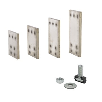 Joints for alluminium shapehd busbars