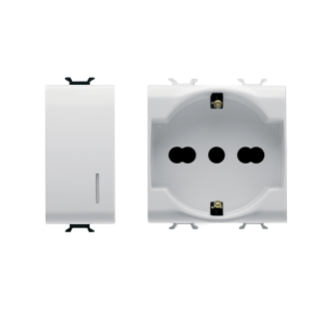 CHORUS - Domestic range White modular devices